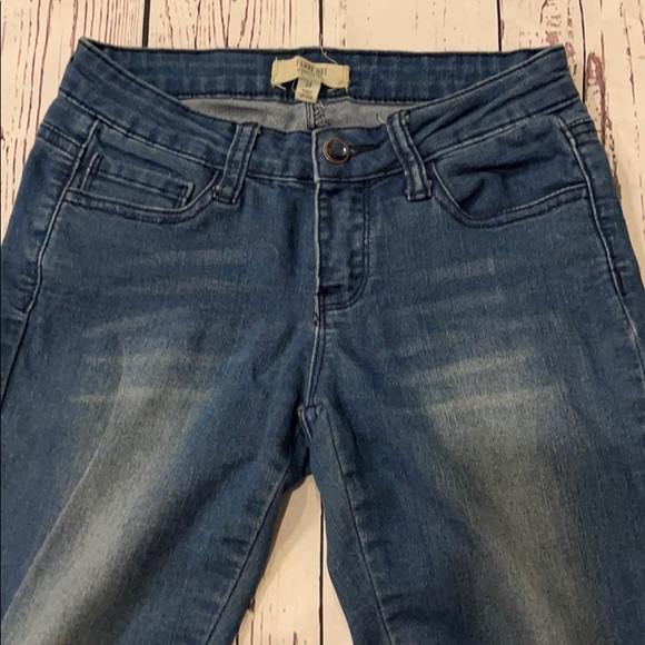 Hollister front faded jeans